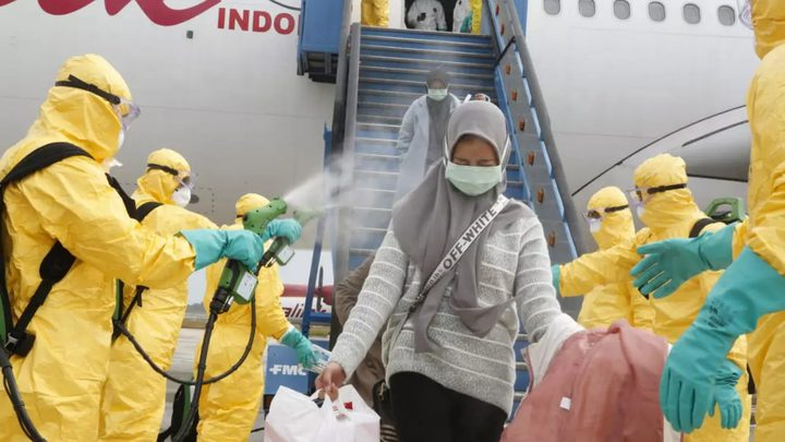 230 إصابة جديدة بفيروس كورونا في إندونيسيا وماليزيا وسنغافورة