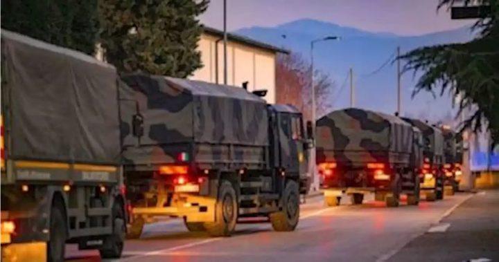 إيطاليا تدفع بجيشها لمكافحة فيروس كورونا في المنطقة الأكثر إصابة