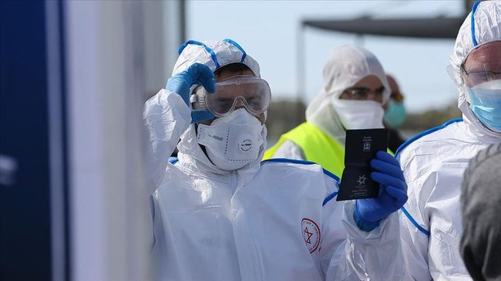 """ارتفاع الإصابات بفيروس كورونا إلى 705 في """"إسرائيل"""""""