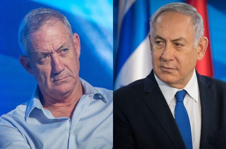 """تفاصيل اتفاق مع """"أزرق أبيض"""" لتشكيل حكومة الاحتلال"""