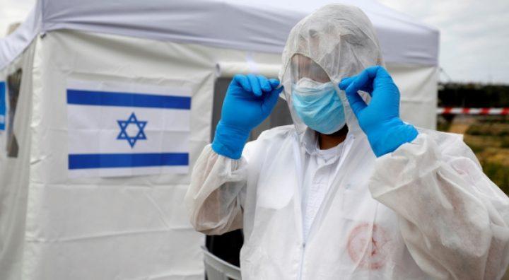 """الاحتلال: ارتفاع عدد المصابين بفيروس """"كورونا"""" لـ883"""