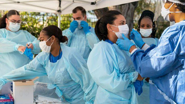 الولايات المتحدة تُصبح الثالثة عالميا بالإصابة بفيروس كورونا