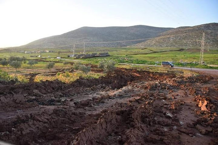 الاحتلال يدمر ويتلف محاصيل زراعية في منطقة النقب
