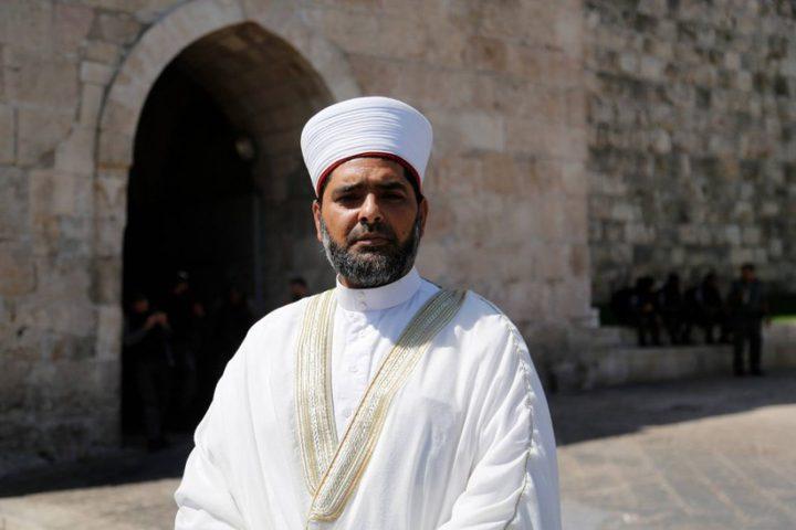 الكسواني: قرار اغلاق المسجد الأقصى بدأ حيز التنفيذ