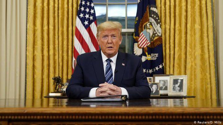 ترامب يتخذ قرارا بشأن تفشي فيروس كورونا
