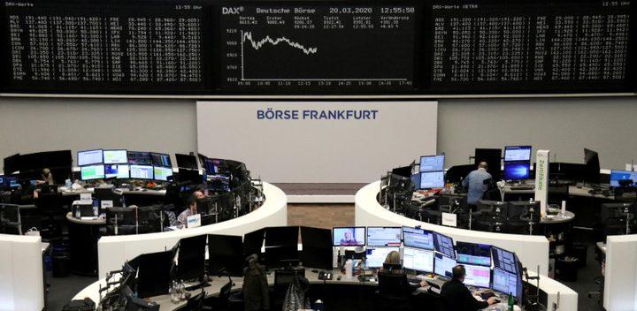 الأسهم الأوروبية تهوي مجددا