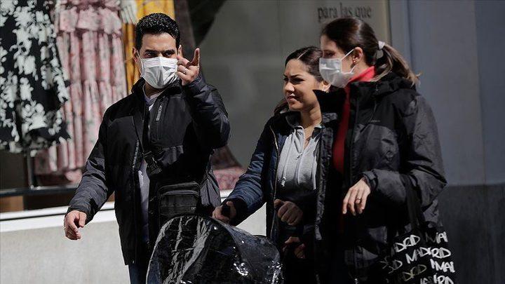 الصحة الإسبانية: ارتفاع عدد الإصابات بفيروس كورونا إلى 39673