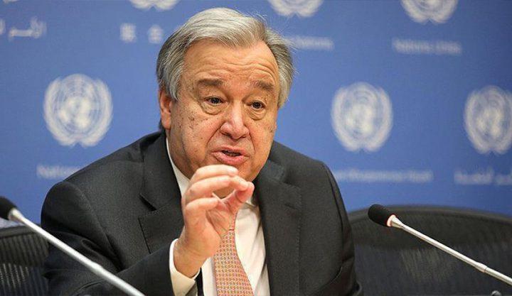 غوتيريش: الأمم المتحدة بحاجة إلى ملياري $ لمساعدة الدول الفقيرة