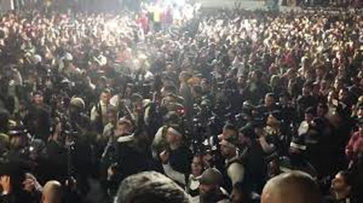 ملحم: الاستقبال الحاشد لأسير محرر في جنين خرق للتدابير الاحترازية