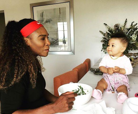لاعبة التنس سيرنيا وليامز تخشى على طفلتها من فيروس كورونا