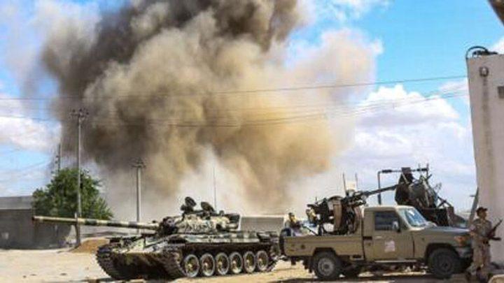 معارك حامية في ليبيا رغم اختراق كورونا للبلاد