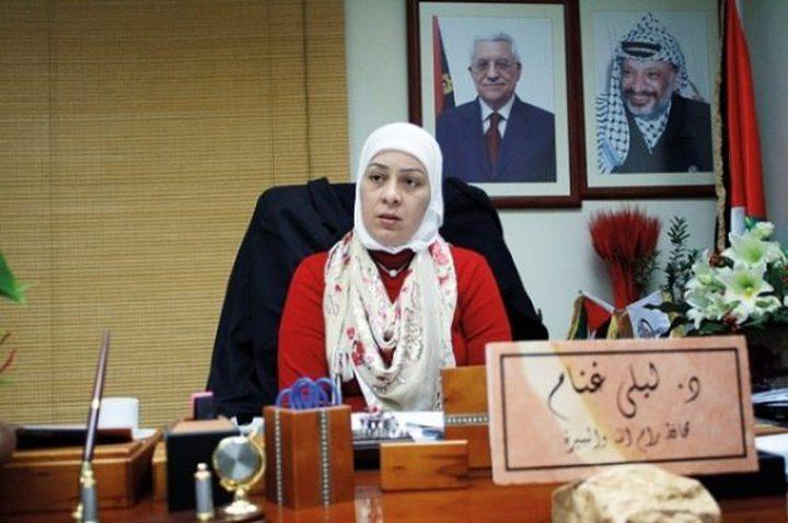 ليلى غنام: ابن الفقيدة نقل لها العدوى وهو عامل في الداخل الفلسطين