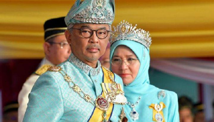 وضع ملك ماليزيا وزوجته في الحجر الصحي