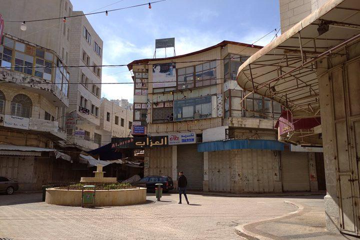 عدسة النجاح الاخباري ترصد شوارع مدينة نابلس في ظل حالة الطوارئ