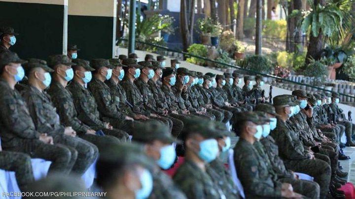 فيروس كورونا يصيب رأس الجيش الفلبيني