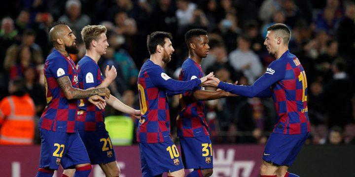 برشلونة يسعى لتعزيز صفوفه بضم لاعبين فرنسيين