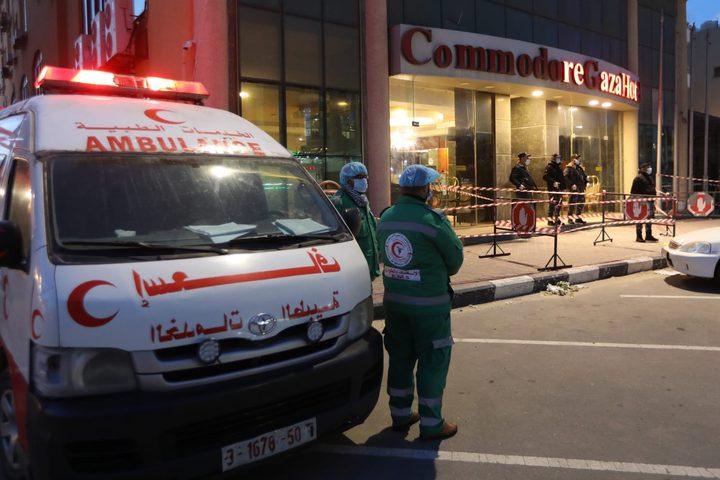الصحة بغزة: الوضع الصحي للمصابين التسعة جيد ولا إصابات جديدة
