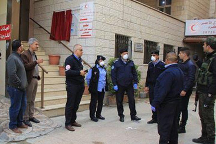 الشرطة تتعامل مع 900 عامل دخلوا إلى محافظة نابلس