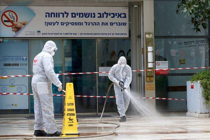 """الاحتلال: ارتفاع عدد المصابين بفيروس """"كورونا"""" لـ3460حالة"""