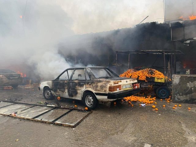 وفاة مواطنة متأثرة باصابتها في حريق النصيرات ليرتفع العدد لـ25