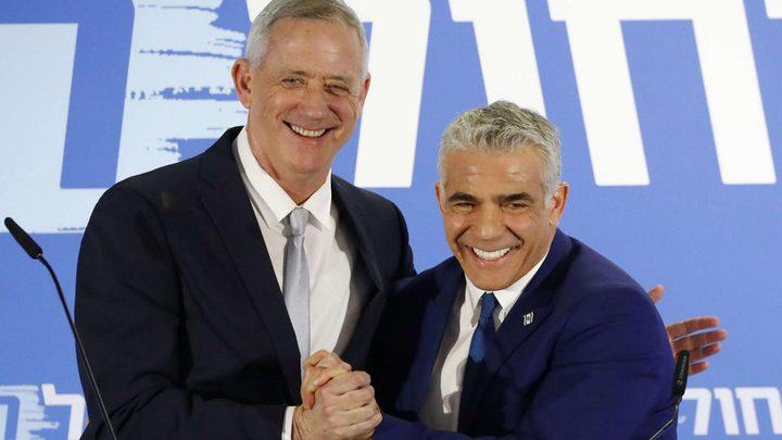 """المصادقة رسميًا على انقسام حزب """"أزرق أبيض"""" إلى كتلتين"""