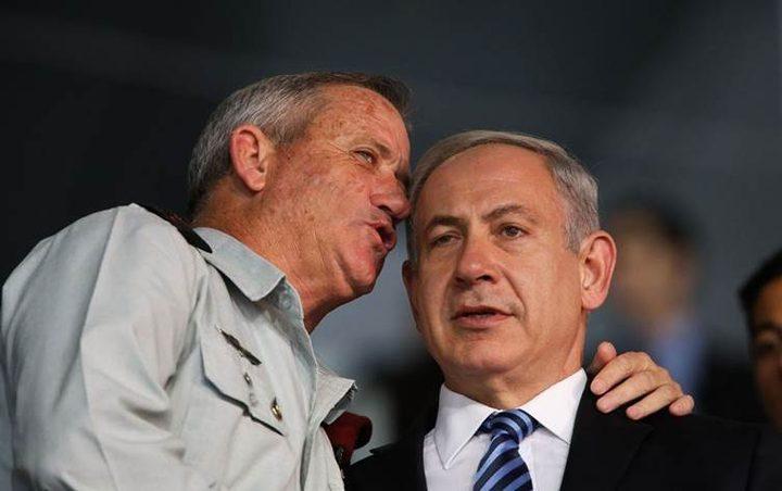 نتنياهو وغانتس يقتربان من تشكيل حكومة وحدة