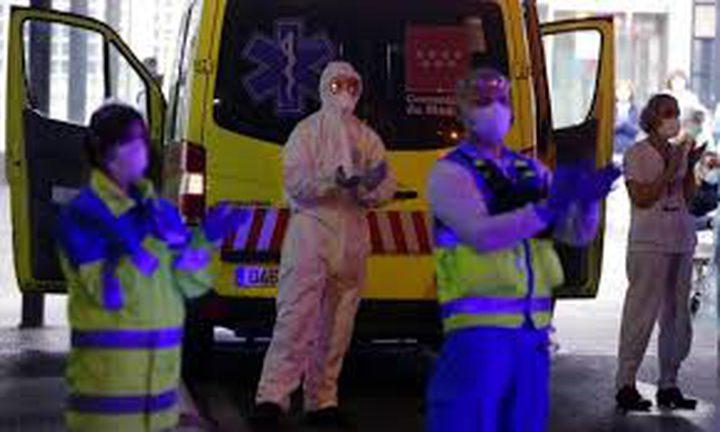 """838 وفاة جديدة و6549 إصابة بفيروس """"كورونا"""" بإسبانيا"""