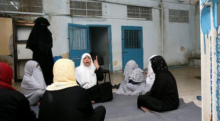 """الاحتلال يواصل اعتقال 41 أسيرة في سجن """"الدامون"""" في ظروف صعبة"""