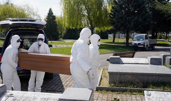 الوفيات جراء كورونا تقارب الـ34 ألفا