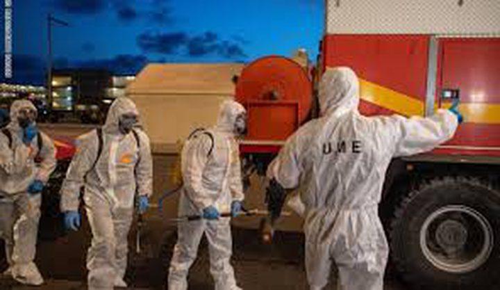 إسبانيا تسجل حصيلة وفيات قياسية جراء كورونا