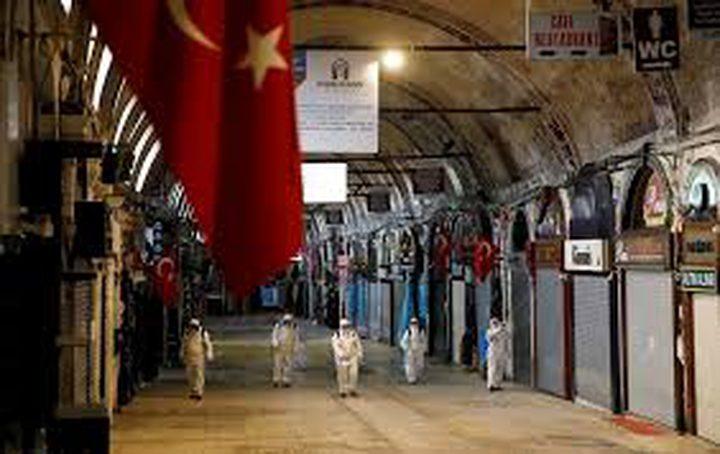 تسجيل 23 وفاة بتركيا و1815 إصابة بكورونا خلال 24 ساعة