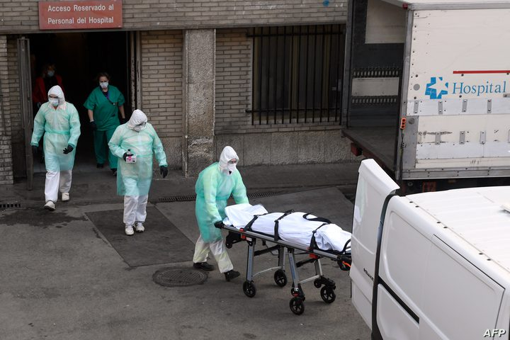 """إسبانيا تسجل أعلى حصيلة يومية لوفيات """"فيروس كورونا """""""