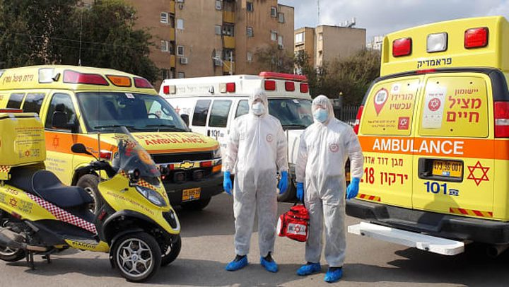 ارتفاع عدد وفيات فيروس كورونا في دولة الاحتلال إلى 18