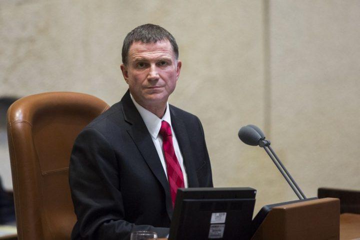 ادلشتاين يؤكد عدم مطالبته الحصول على منصب وزير خارجية الاحتلال