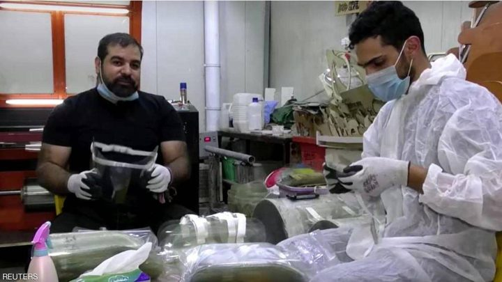 العراق.. تطوير أقنعة ثلاثية الأبعاد لمواجهة كورونا