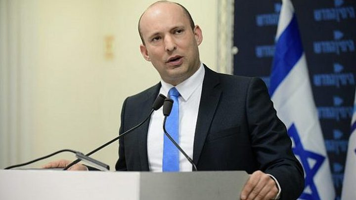 بينيت يعلن تنفيذ الاحتلال غارات جوية في سوريا الليلة الماضية