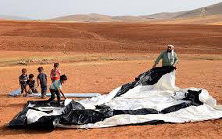 """قوات الاحتلال تستولي على """"كرفان"""" سكني في الجفتلك"""