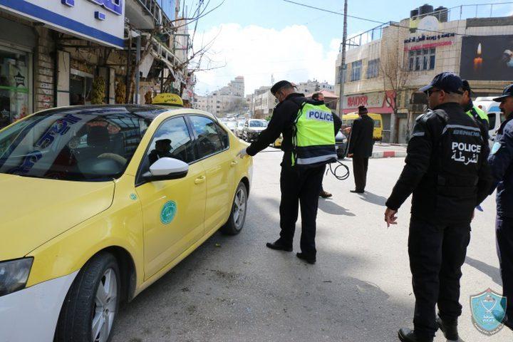 الشرطة تضبط 80 مركبة لعدم التزام سائقيها بحالة الطوارئ