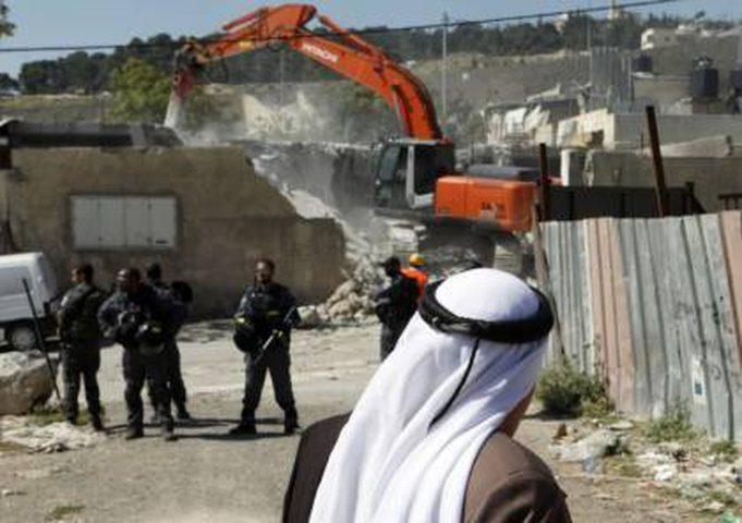 الاحتلال يخطر بهدم منزلين جنوب بيت لحم