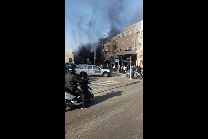 شرطة الاحتلال تعتدي على المواطنين في يافا