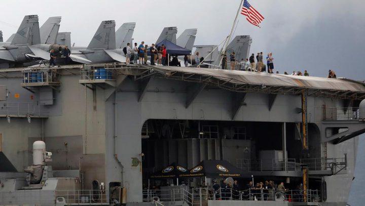 كورونا يجبر البحرية الأميركية على إخلاء حاملة طائرات