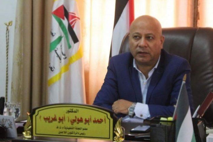 أبو هولي: الاتصالات مع الدول المضيفة مستمرة لتأمين سلامة اللاجئين