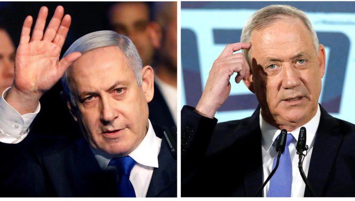 نتنياهو وغانتس يعلنان التوصل إلى تفاهمات جديدة لتشكيل حكومة
