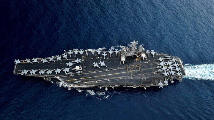 البنتاغون يعلن 155 اصابة بفيروس كورونا على متن حاملة الطائرات