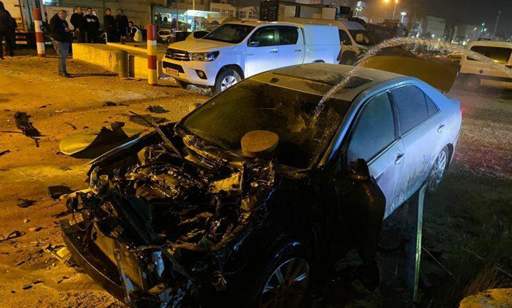 إصابتان خطيرتان في حادث طرق على شارع 90 بالقرب من بلدة أريحا