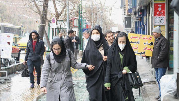 """إيران:2560 إصابة جديدة بـ""""كورونا"""" و158 وفاة خلال 24 ساعة الماضية"""