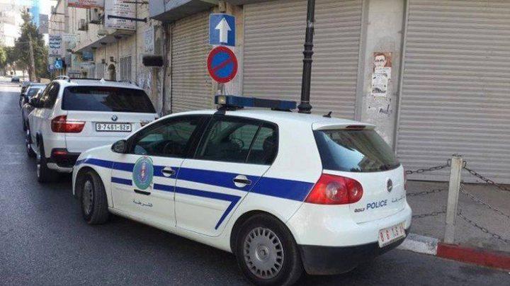 الشرطة تقبض على 3 مطلوبين وضبط 13 مركبة في نابلس