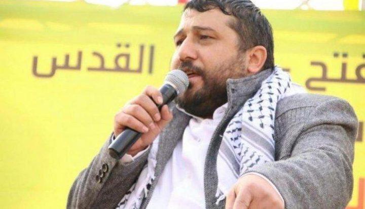 الاحتلال يقتحم منزل أمين سر حركة فتح بالقدس