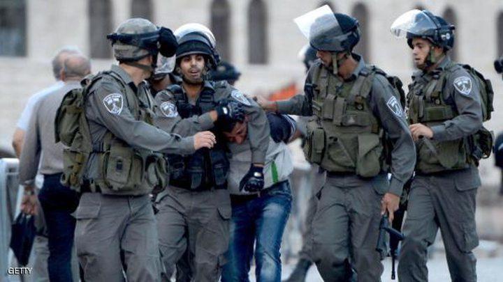 قوات الاحتلال تعتقل مواطنين من القدس القديمة