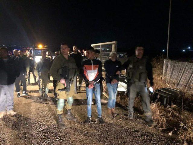 الاحتلال يعتقل 4 شبان بزعم محاولتهم التسلل لمستوطنة شمال جنين